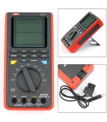 Multimetru cu funcţie de osciloscop, max. 8MHz