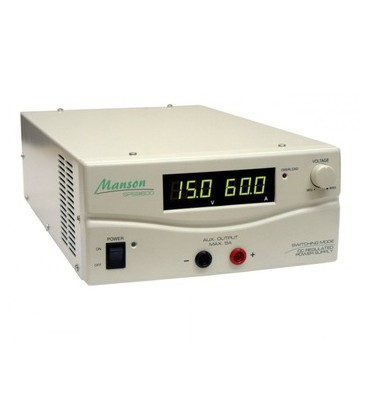 Sursă alimentare reglabila 15V 60A DC MANSON SPS-9600