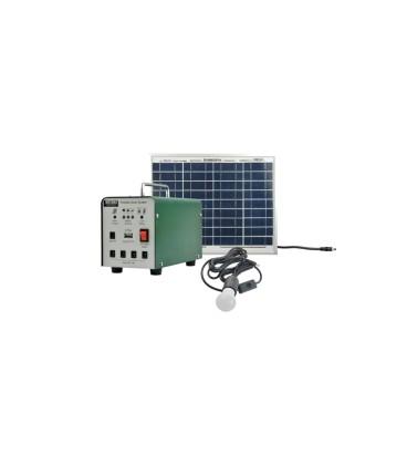 Set solar fotovoltaic portabil MOTOMA 10W (AGM)