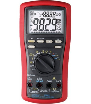 Multimeter True RMS AC/DC with USB