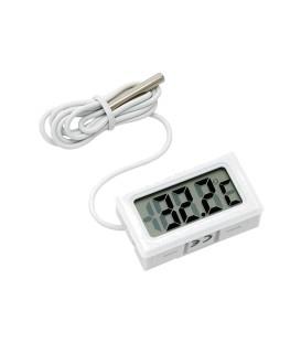 Termometru universal clasic pentru interior cu afișaj LCD - 10 ~ +50 ° C TH011