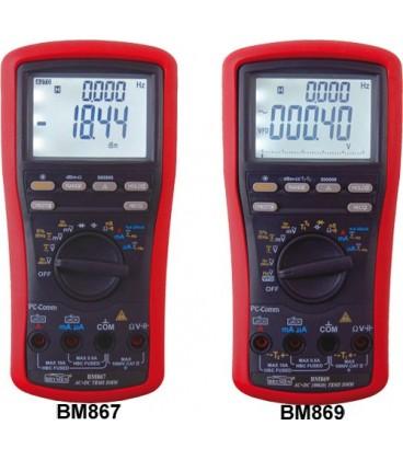 Digital multimeter TrueRMS 1000VAC/DC, temp.measurement