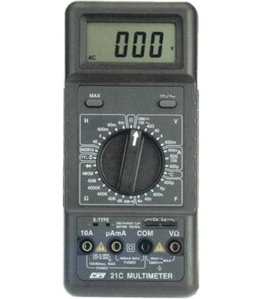 Multimetru digital cu circuit RLC şi măsurare a temp.