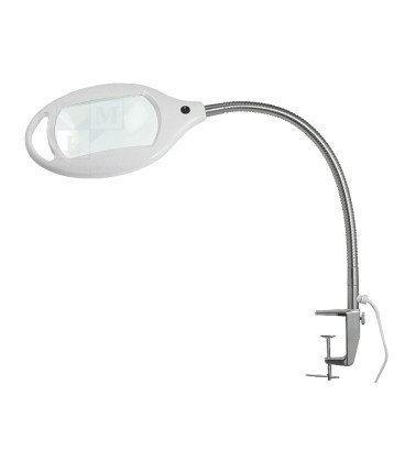 Lupă de masă cu iluminare Mărire: 3dpt(x1,75) Iluminare: LED