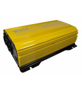 Invertor auto Convertor de tensiune SINUS PUR 1500 PLUS (24V / 230V 1000 / 1500W) VOLT POLSKA