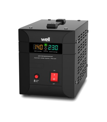 Stabilizator automat de tensiune Agile 2000VA/1400W Well Cod EAN: 5948636032147