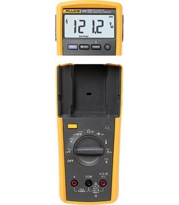 Multimeter with remote display digital