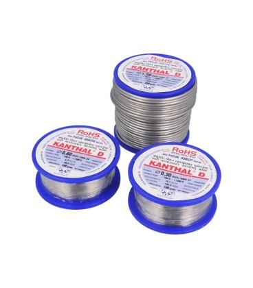 Fir de rezistenţă 1,72Ω/m -100÷1300°C Øext: 1mm FeCrAl 0,25kg