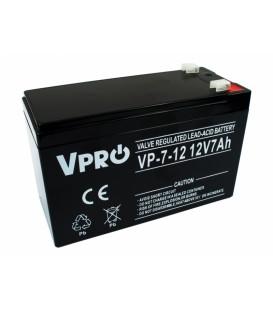 Baterie VPRO 7 Ah 12V AGM VRLA