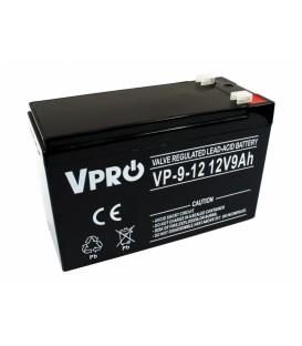 Baterie VPRO 9 Ah 12V AGM VRLA 6AKUAGM009