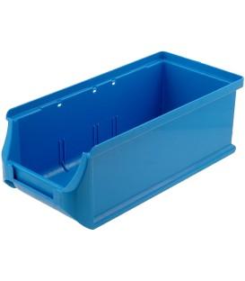 Container: de atelier albastră plastic H: 75mm W: 102mm D: 215mm