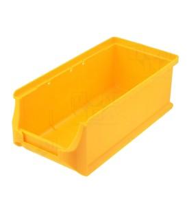 Container: de atelier galbenă plastic H: 75mm W: 102mm D: 215mm