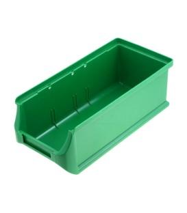 Container: de atelier verde plastic H: 75mm W: 102mm D: 215mm