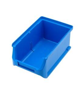 Container: de atelier albastră plastic H: 75mm W: 102mm D: 160mm