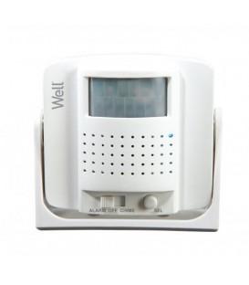 Sonerie fara fir cu senzor miscare, Well Cod EAN: 5948636035698