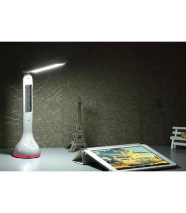 Lampa de birou LED Well cu calendar si lumina RGB