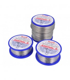 Nichelină 0.6 Sârmă rezistivă 4,77Ω/m -100÷1300°C Øext: 0,6mm FeCrAl