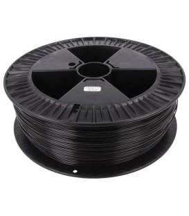 Filament: PET-G 1,75mm neagră 220-250°C 2kg ±0,05mm