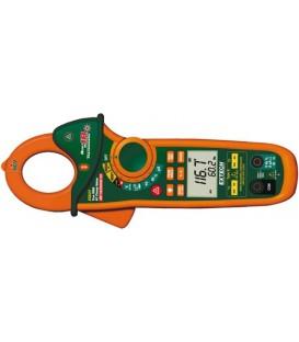 Cleşte ampermetric Extech 400 AC/DC cu măsurare temp. EX623