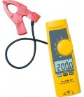 Clamp meter 200A AC/DC with measuring probe on cable FLK-365