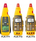 Cleşti ampermetric de curent cu transmiţător mA şi DCV FLK-773