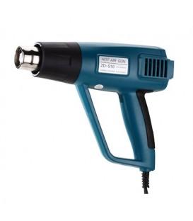 Pistol cu aer cald ZD510 1500W cu control de temperatură și afișaj
