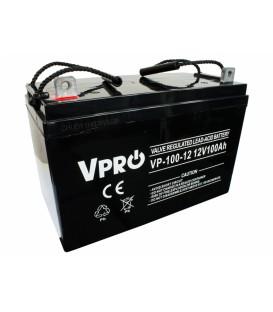 Baterie VPRO 100 Ah 12V AGM VRLA /br
