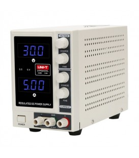 Sursă de curent continuu stabilizată UNI-T UTP3315TFL-II 0-30V/ 0-5A cu un canal sursa laborator