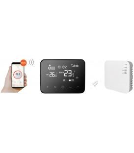 Termostat ambient centrala termica / incalzire in pardoseala COMFORT WT-20 radio WIFI Compatibil Google Home Amazon Alexa
