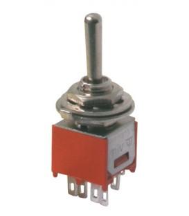 Comutator de comutare 3pol./6pin ON-OFF-ON (mini)