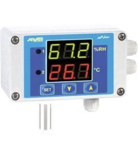 Regulator de umiditate şi temperatură,alim. 24VAC/DC AR247-S2