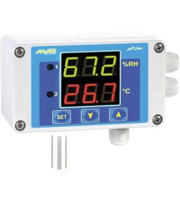 Regulator de umiditate şi temperatură,alim. 24VAC/DC