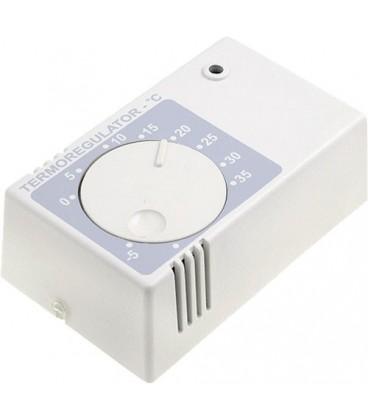 Regulator de temperatură, +20°C/+90°C, încălzire