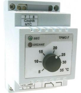 Regulator de temperatură pt.şină DIN +20°C/+50°C,răcire TP-TPMC-9W