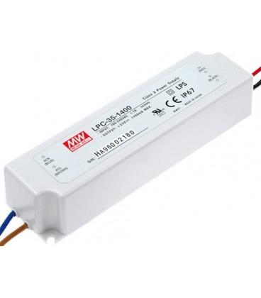 Simbolul clientului: Alimentator diode LED, sursă curent, 1400mA 3-24V 30W