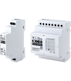 Sursă în comutaţie 30W 2,5A Ualim:90-350V DC Montare:DIN CS-30-12