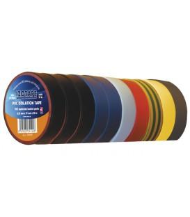 Banda izolatoare PVC 19 / 20m amestec de culoare EMOS 10buc