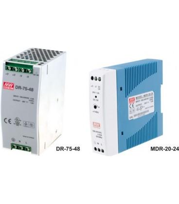 Alimentator:comutare; 40W; 24V; 85÷264VAC; Montare:DIN; 300g