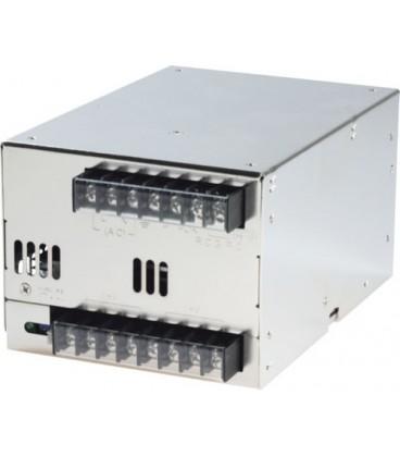 Alimentator:comutare; 24V; 25A; Conex.electr:bandă cu cleme