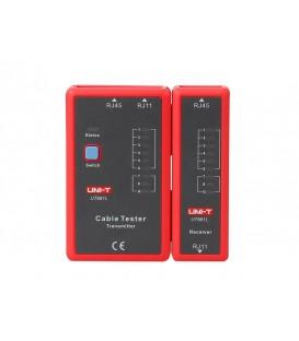 Tester de cablu UNI-T UT681L (RJ45, RJ11)