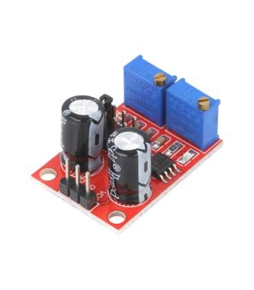 Generator de impulsuri NE555 32x23mm 5÷15VDC şiruri pini