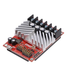 Controler motor DC PWM,RC,TTL,micro-USB 15A Uwej sil: 6÷34V