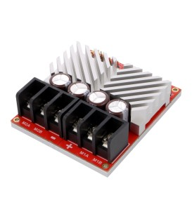 Controler motor DC RoboClaw PWM,RC,TTL,micro-USB Canale: 2