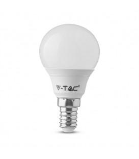 Bec LED - Chip SAMSUNG 5.5W E14 P45 Plastic Lumină caldă