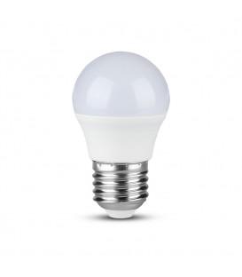 Bec LED - Chip SAMSUNG 5.5W E27 G45 Plastic Lumină neutră