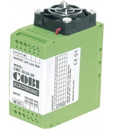Alimentator:comutare; 25W; 2A; 12V; 185÷265VAC; Montare:DIN; 100g