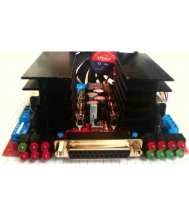 4 Axis Bipolar Microstep Driver CNC4X35A