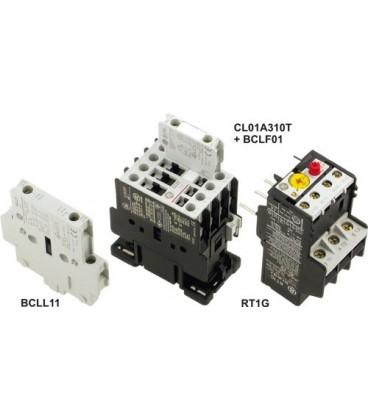 Contactor:tripolar Contacte auxiliare:NC 12A 24VAC 5,5kW CL01A301T1