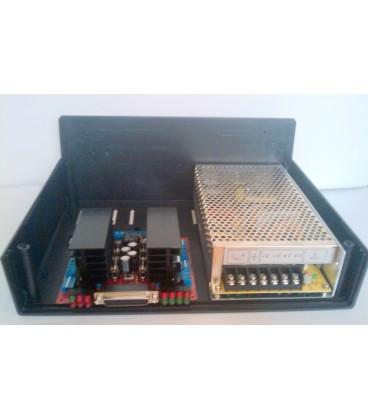 Carcasa plastic negru 118x297x216mm