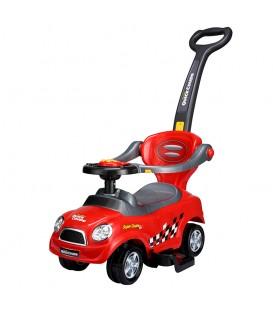 Împingător carut masina roșie